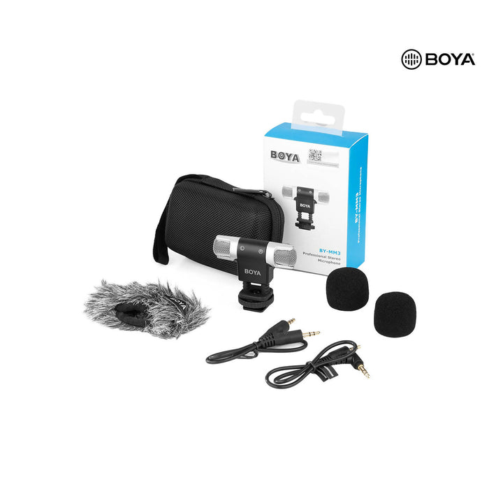 Boya BY-MM3 Dual Head Microphone