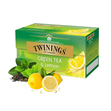 Twinings Green Tea & Lemon 25pcs