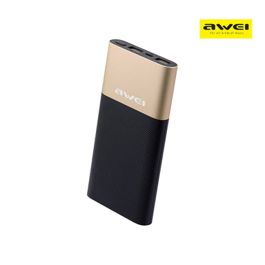 Awei 10000 mAh Dual USB Output Power Bank - P53K