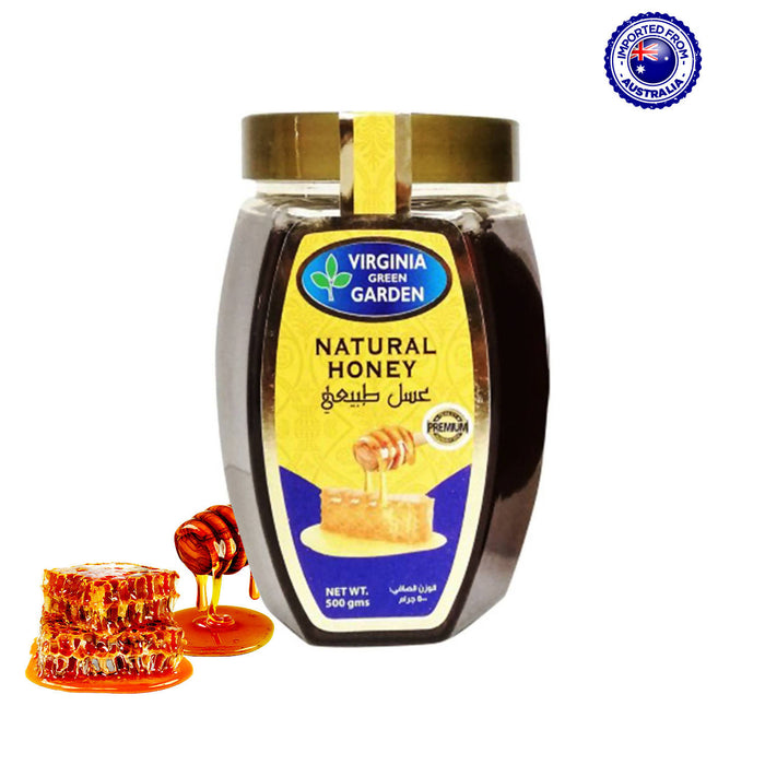 Virginia Green Garden Natural Honey, 500g
