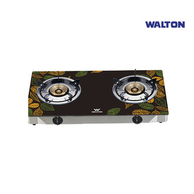 Walton Glass Top Double Burner LPG / NG WGS-GNS1