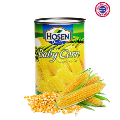 Hosen Baby Corn Young Corn Cut - 400g