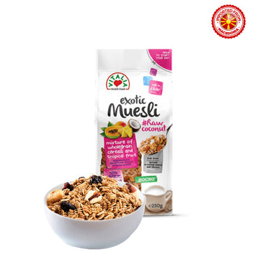 Vitalia Exotic Muesli Raw Coconut - 250g