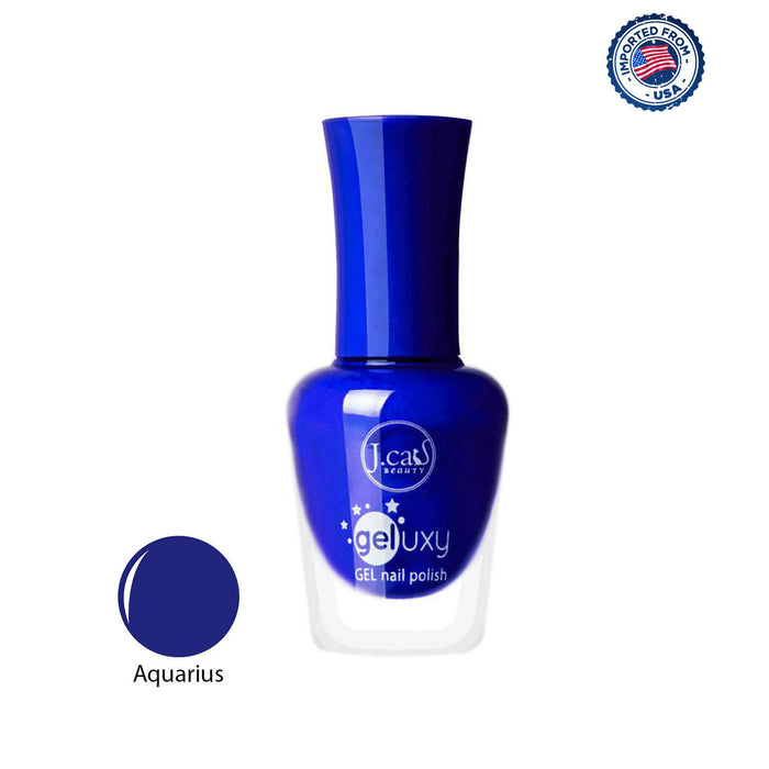 J.Cat Beauty Geluxy Gel Nail Polish - Aquarius