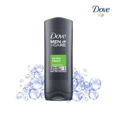 Dove Men Care Extra Fresh Cooling Agent Body And Face Wash - 250ml