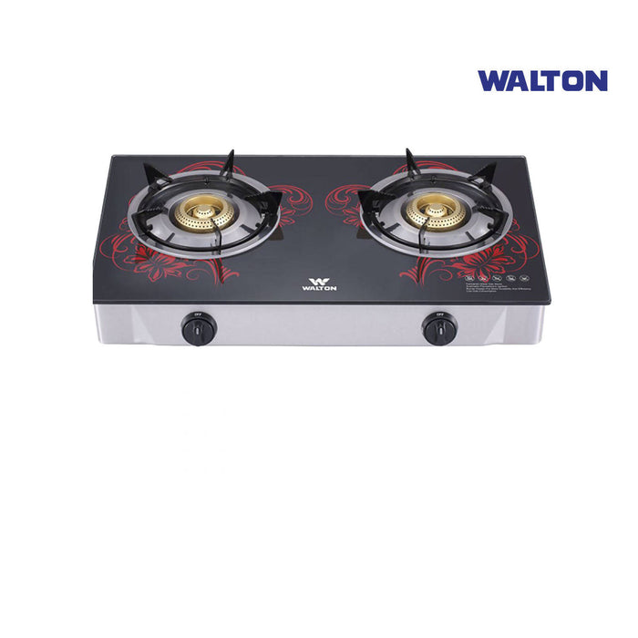 Walton Glass Top Double Burner NG-WGS-GHT1