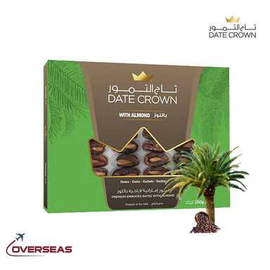 Date Crown Fard Box With Almond - 250g