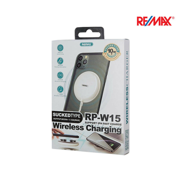 Remax Sucked Type 10W Wireless Charger - RP-W15
