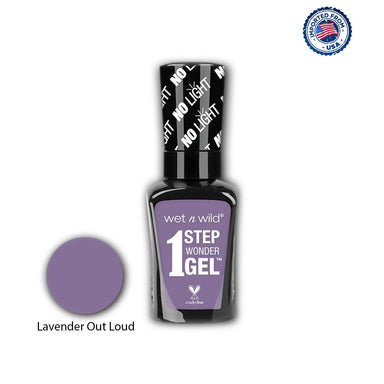 Wet N Wild 1 Step Wonder Gel Nail Color - Lavender Out Loud