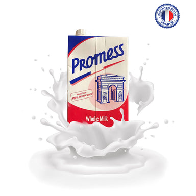 Promess UHT Whole Milk, 1ltr