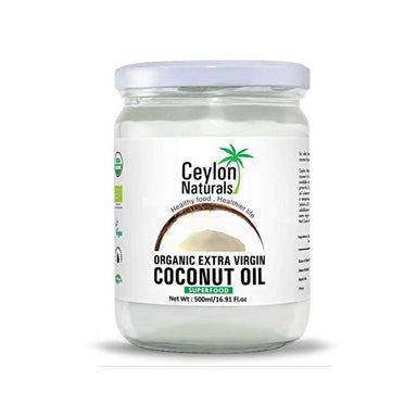 Ceylon Naturals Organic Extra Virgin Coconut Oil, 500ml