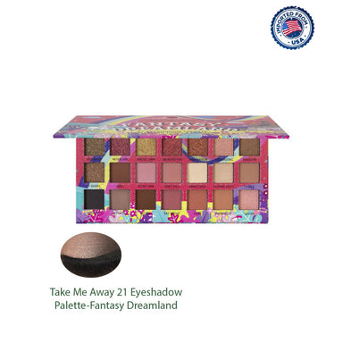 J.Cat Beauty Take Me Away 21 Eyeshadow Palette - Fantasy Dreamland