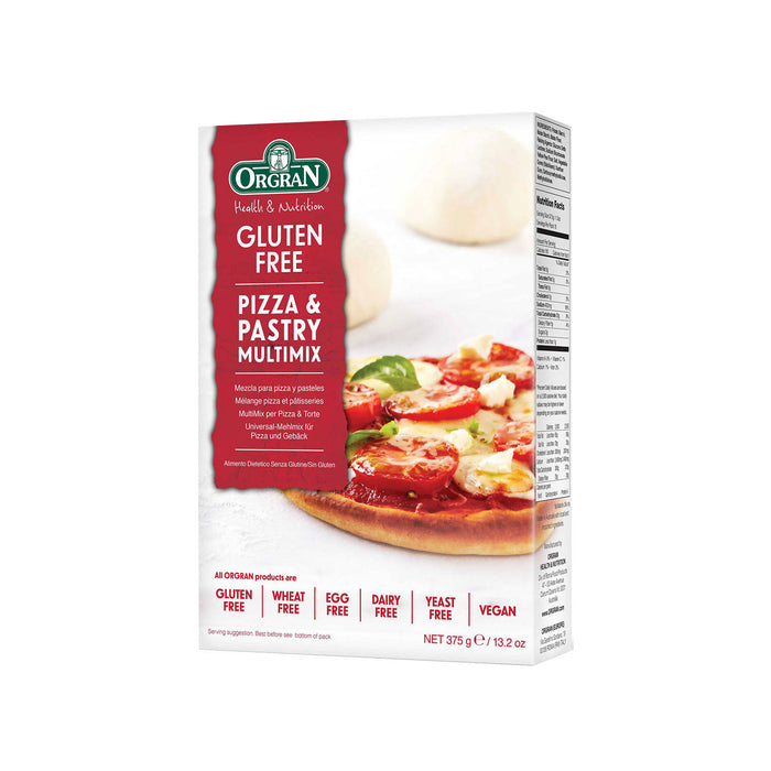 Orgran Gluten Free Pizza & Pastry Multimix, 375g