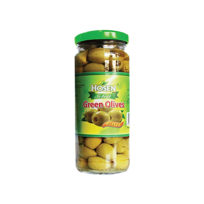 Hosen Select Green Olives Pitted - 345g