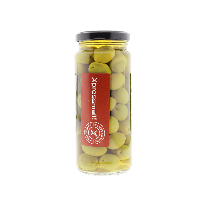 Figaro Green Olive Pitted 340g, Pack of 3