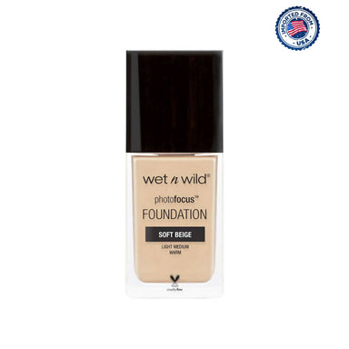 Wet N Wild Photo Focus Matte Foundation - Soft Beige