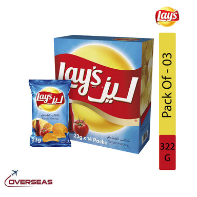 Lay's Tomato Ketchup, 322g - Pack Of 3