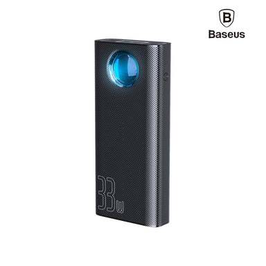 Baseus Amblight Power Bank 30000mAh 33W PD3.0 QC3.0 4x USB / 1x USB Type C - PPLG-01