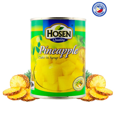 Hosen Pineapple Cubes In Syrup - 565g