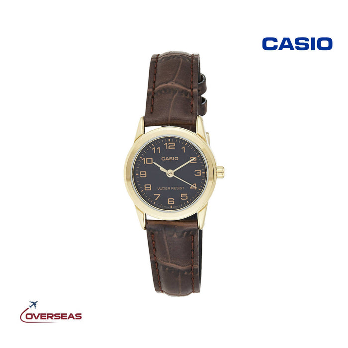 Casio Quartz Watch For Women - EAW-LTP-V001GL-1B