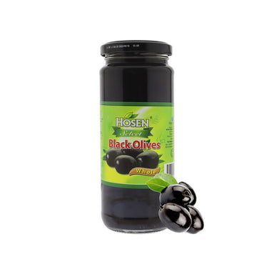 Hosen Select Black Olives Whole, 350g