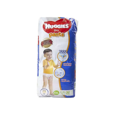 Huggies Dry Pants Baby Diaper XXL 15-25 kg - 32pcs