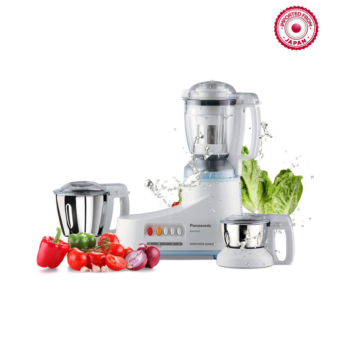 Panasonic Super Mixer Grinder 3 Jars With Juicer Filter - MXAC350