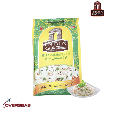 India Gate Creamy Sella Parboiled - 5Kg