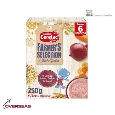 Nestle Cerelac Farmer's Selection, 5 - 250g