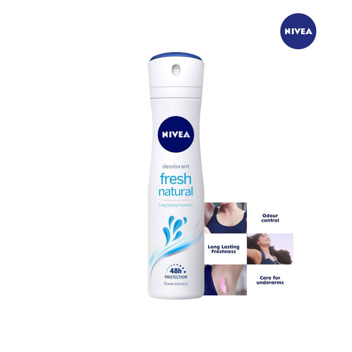 Nivea Fresh Natural Deodorant -150ml