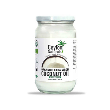 Ceylon Naturals Organic Extra Virgin Coconut Oil, 310ml