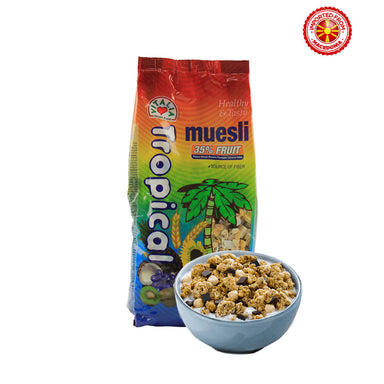 Vitalia Tropical Muesli With 35% Fruit - 750g