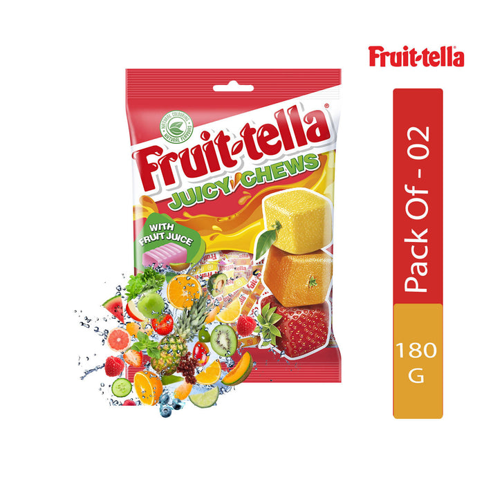 Fruittella Juicy Chews, 180g - Pack of 2