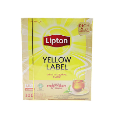 Lipton Tea Bag Yellow Original, 200g