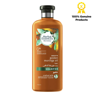 Herbal Essences Bio Renew Smooth Golden Moringa Oil Shampoo - 400ml