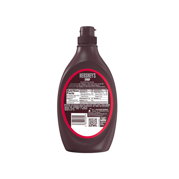 Hershey's Chocolate Syrup (Fat Free), 680g