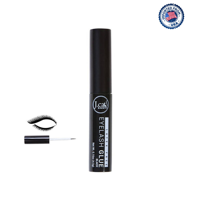 J.Cat Beauty Latex Free Eyelash Glue, 4.5g