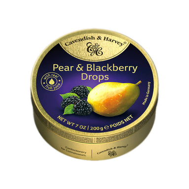 Cavendish & Harvey Pear & Blackberry Drops, 200g