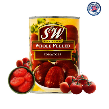 Smith & Wesson Whole Peeled Tomatoes - 411g