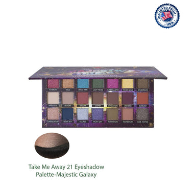 J.Cat Beauty Take Me Away 21 Eyeshadow Palette - Majestic Galaxy