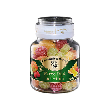 Cavendish & Harvey Mixed Fruit Selection Candy Jar - 300g