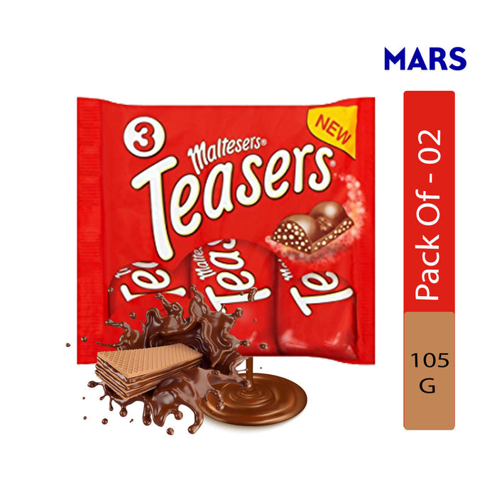Mars Maltesers Teasers, 105g - Pack of 2