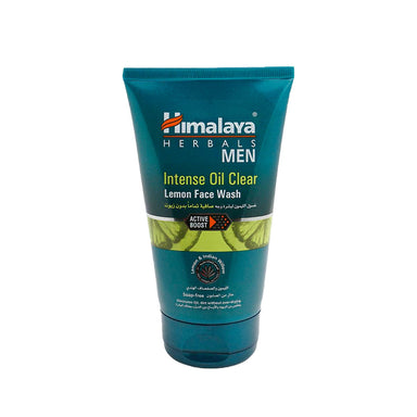 Himalaya Intense Oil Clear Lemon Face Wash Men 100ml