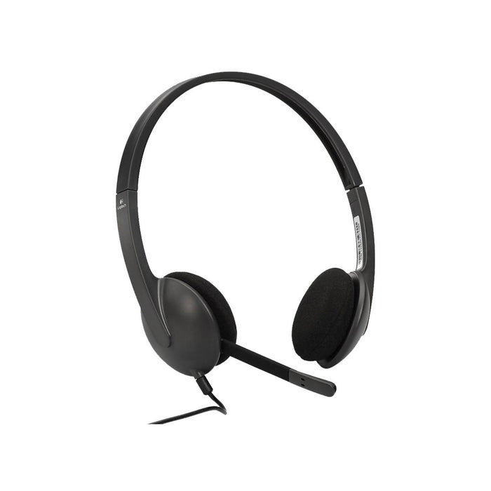 Logitech Stereo Wired Over-Ear Headphones - H340