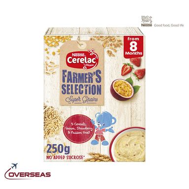 Nestle Cerelac Farmer's Selection 5 Passion Fruits Infant Cereal - 250g
