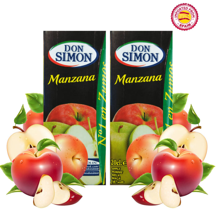 Don Simon Apple (Manzana) Juice 20cl, Pack of 2