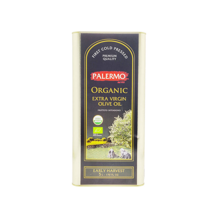 Palermo Organic Extra Virgin Olive Oil, 5L