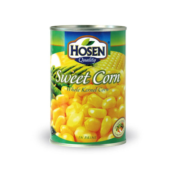 Hosen Sweet Corn Whole Kernel Can, 400g