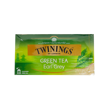 Twinings Green Tea Earl Grey - 25pcs
