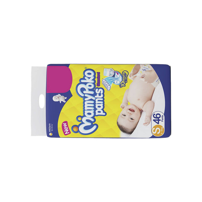 Mamypoko Diaper Pants Standard Style 4-8 Kg, Size S - 46pcs